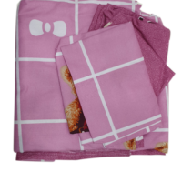 Double Bed Sheet With 2 Pillow Cases #4026