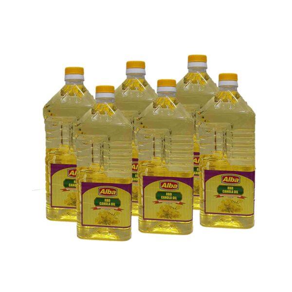 Alba Canola Oil 2Ltr x 6(Ctn)