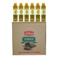 Alba Soyabean Oil 750ml x12 (Ctn)