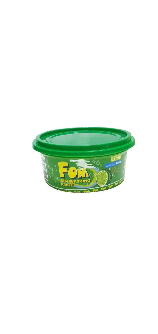FOM Dishwashing Paste Lime 400g x 24(Ctn)