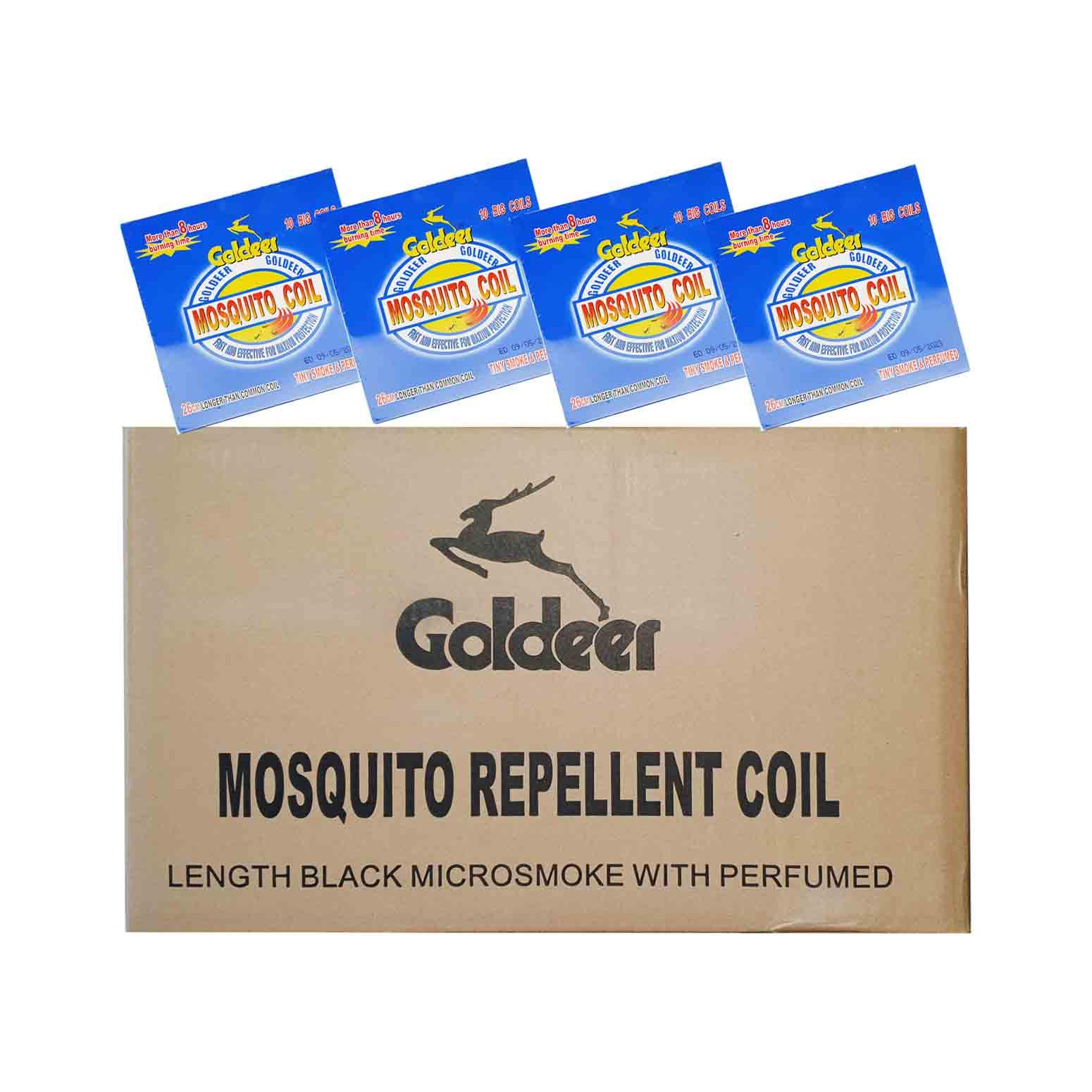 Goldeer Mosquito Coil 10s x 60(Ctn)
