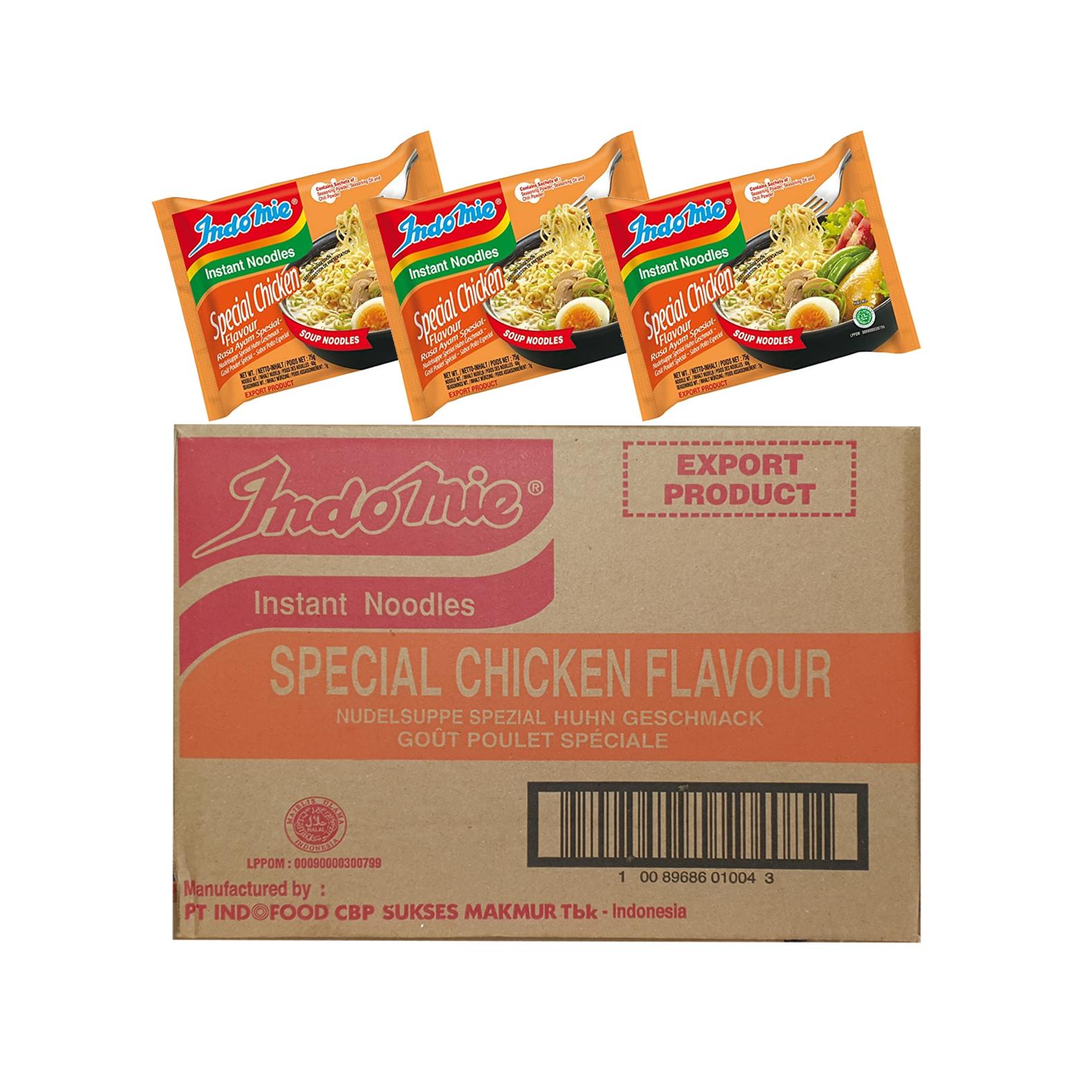 Indomie Special Chicken Noodles 75g x40(Ctn)
