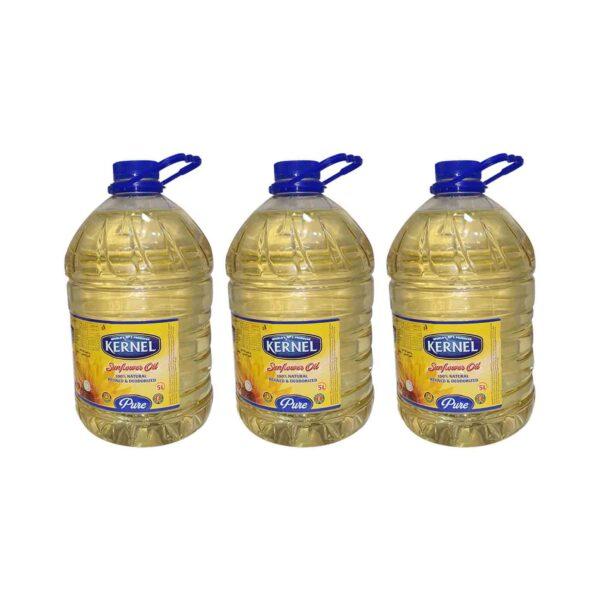 Kernel Sunflower Oil 5Ltr x3 (Ctn)