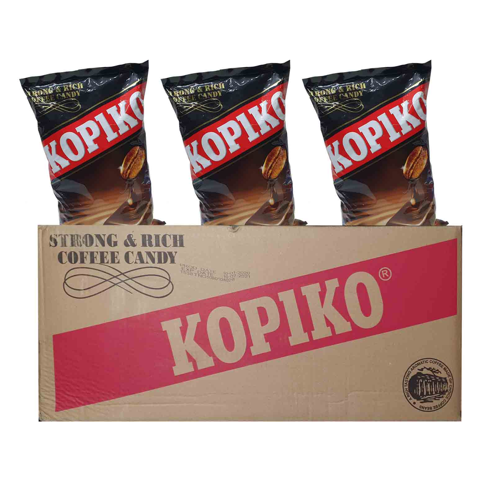 Kopiko Coffee Candy 800g x 20 Ctn