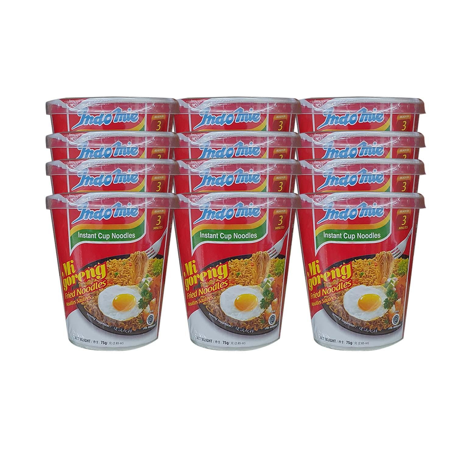 Indomie Mi-Goreng Cup Original 60g x12(Ctn)