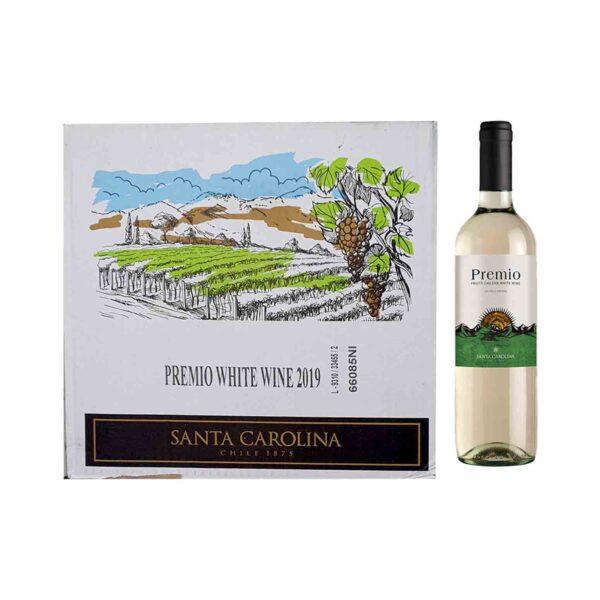 Premio White Wine 750ml x 12 (Ctn)