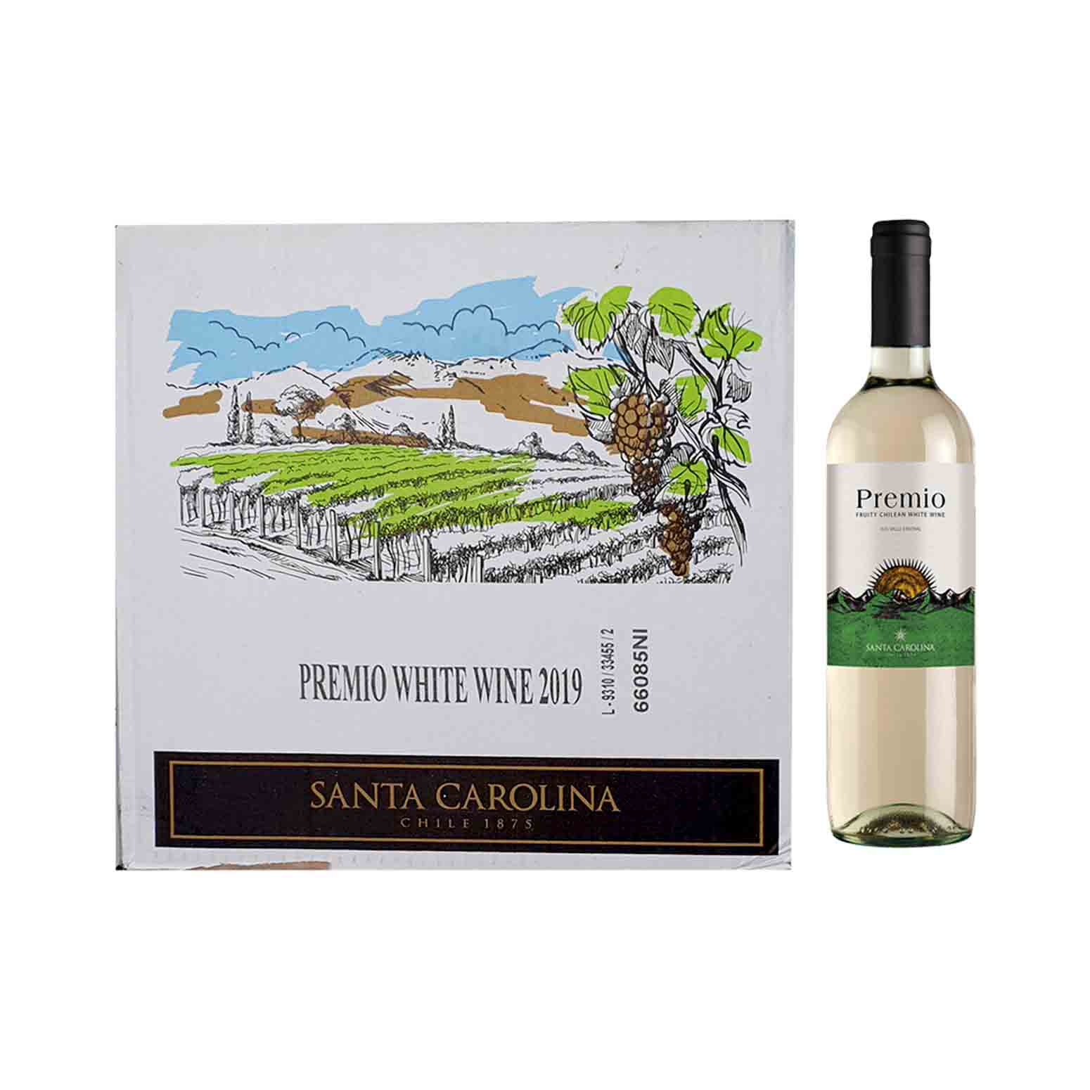 Premio White Wine 750ml x 12 (Ctn)