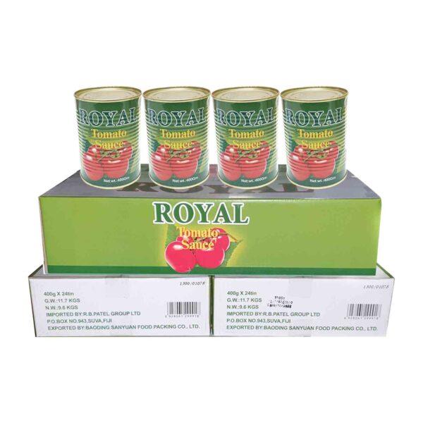 Royal Tomato Sauce Refill 400g x24 (Ctn)