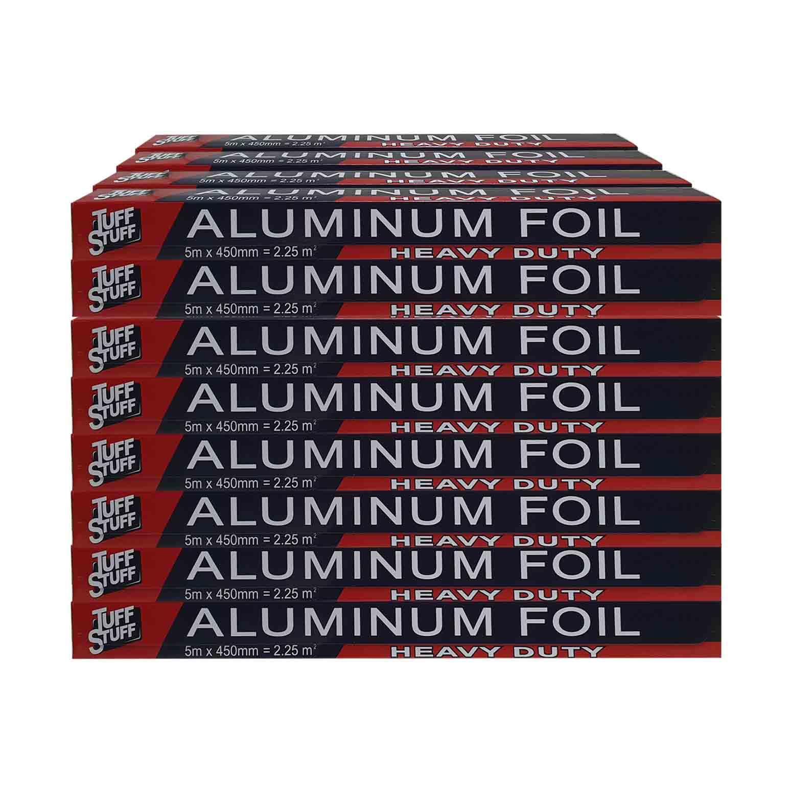 Tuff Stuff Aluminium Foil 45cm x 5m x 48pcs (Ctn)