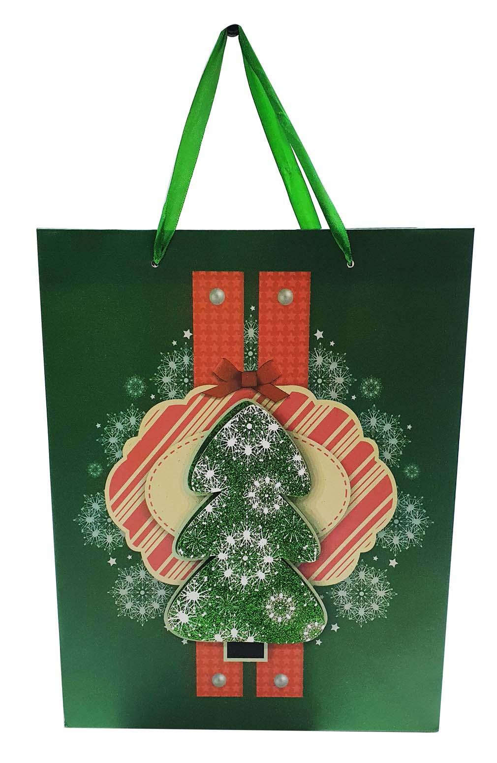 Xmas Red Gift Bag #31908030021