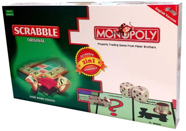 Scrabble & Monopoly #42010097086 -BAL