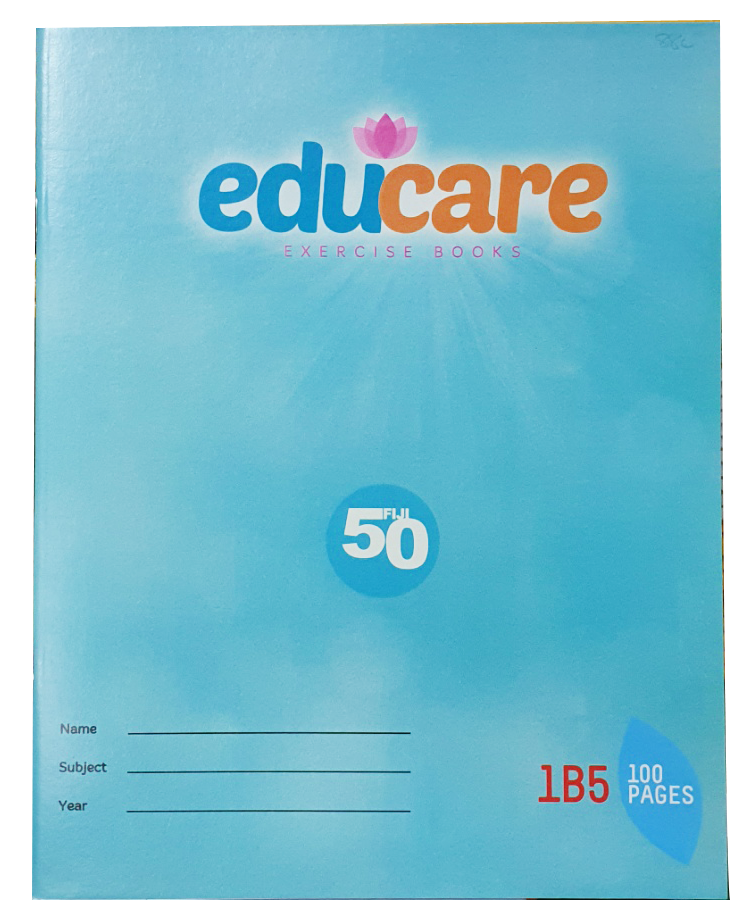 Educare 1B5 Exercise Book 100 Pages