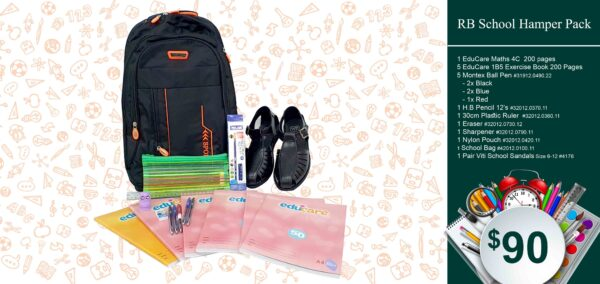 RB School Hamper Pack $90