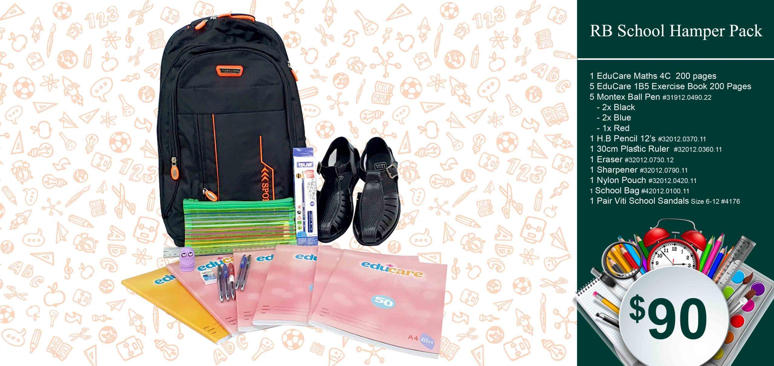 RB School Hamper Pack $90