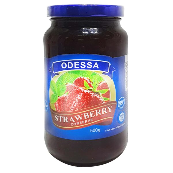 Odessa Breakfast Strawberry Jam 500g