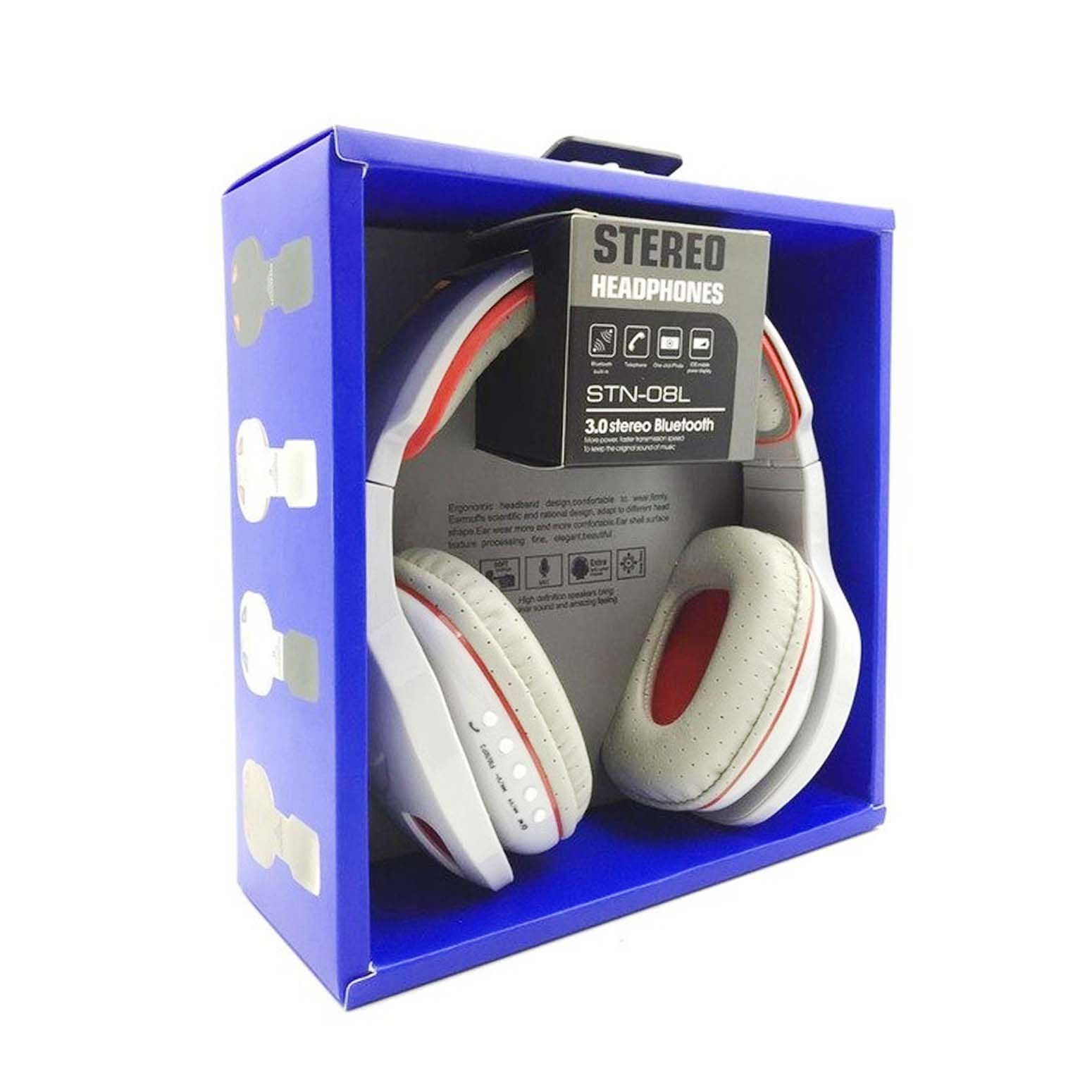 Stereo Head Phones Bluetooth Built-In #31908047021