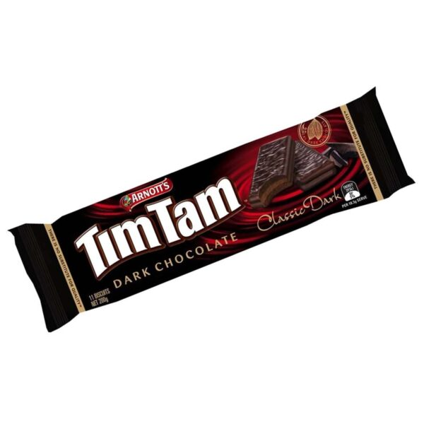 Arnotts Tim Tam Dark Chocolate 200g