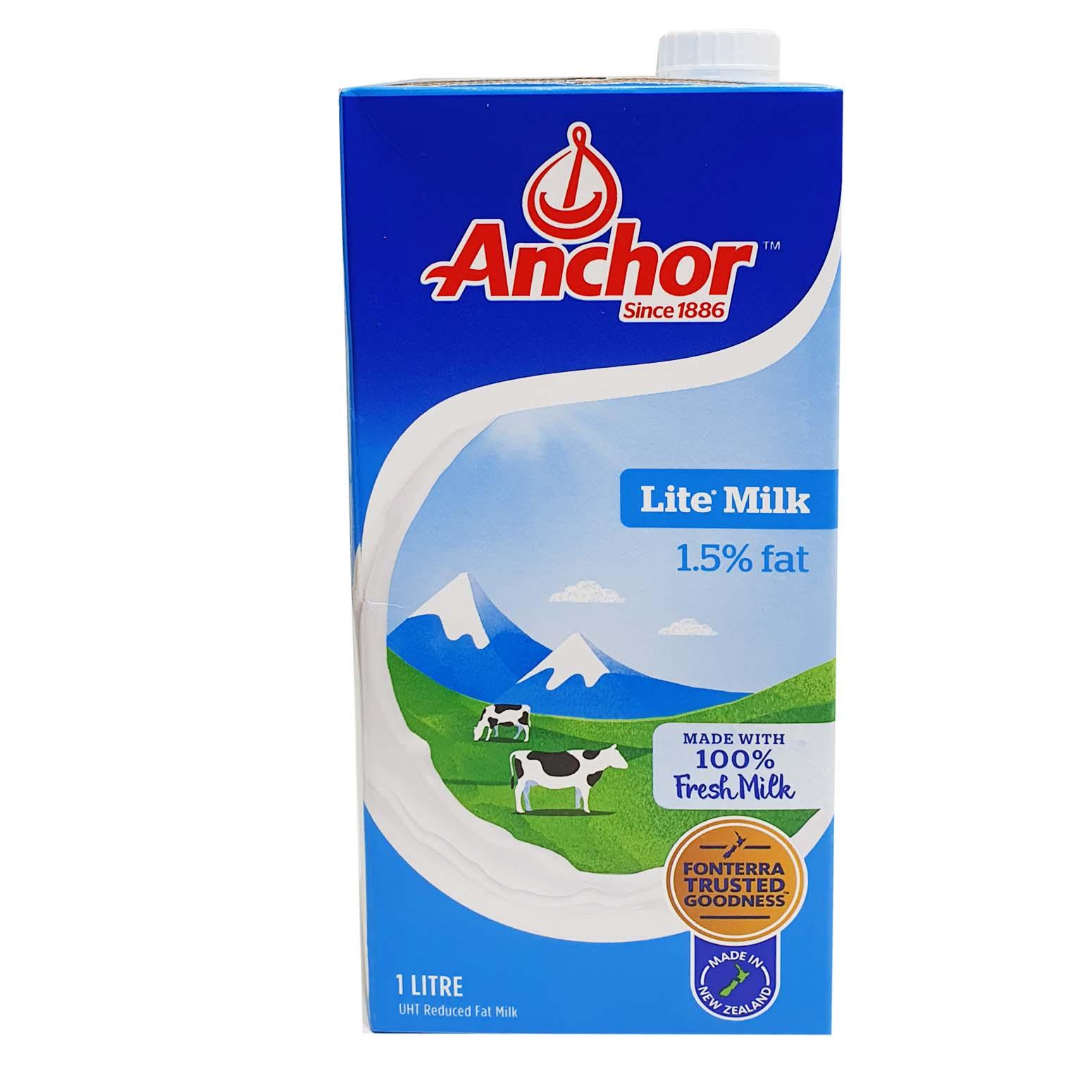 Anchor Lite Milk 1Ltr