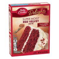 B/Crocker S/Moist Red Velvet 432g