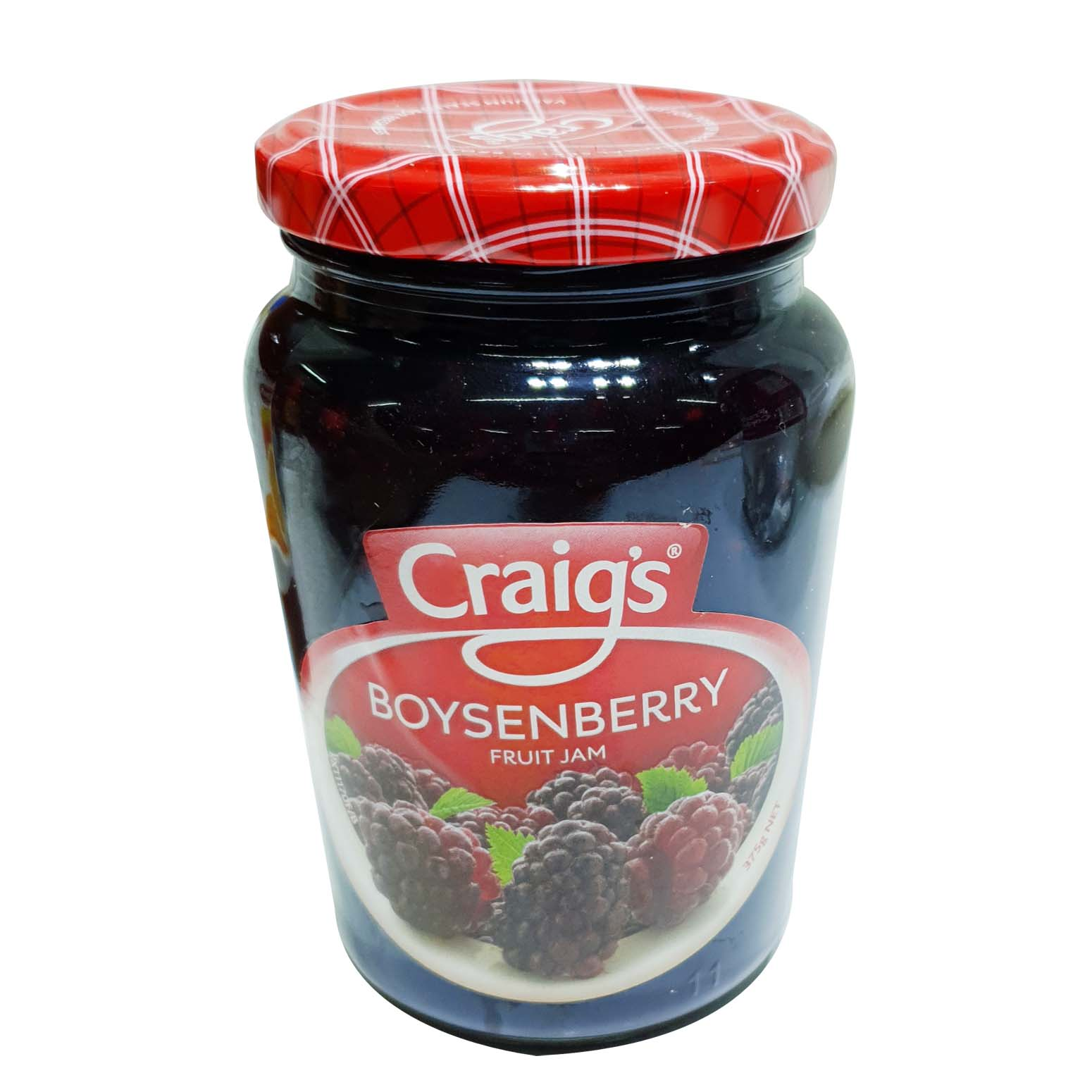 Craigs Boysenberry Fruit Jam 375g