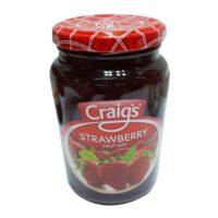 Craigs Strawberry F/Jam 375g