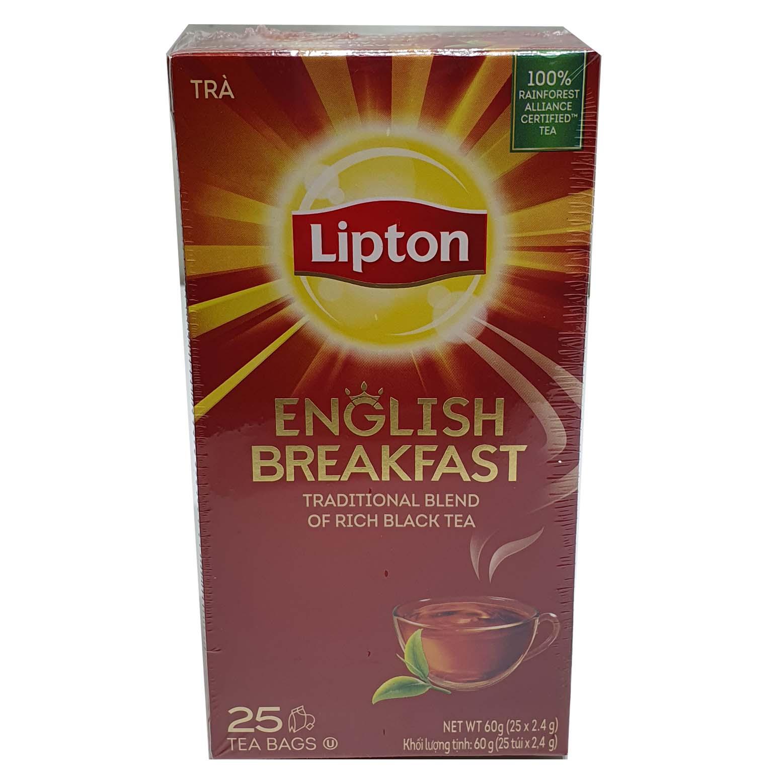 Lipton English Breakfast25s Tea Bags